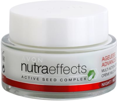 Avon Nutra Effects Ageless Advanced crema de noche intensa antiedad
