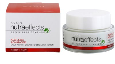 Avon Nutra Effects Ageless Advanced intensive Nachtcreme mit verjüngender Wirkung 2