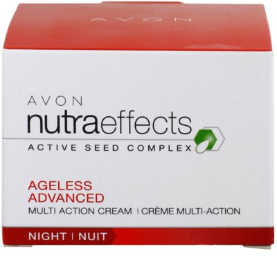 Avon Nutra Effects Ageless Advanced intensive Nachtcreme mit verjüngender Wirkung 3
