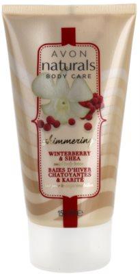Avon Naturals Body lapte de corp cu efect de stralucire cu ilex verticillata si unt de Shea