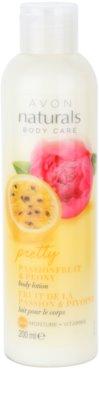 Avon Naturals Body hydratisierende Körpermilch mit Maracuja und Pfingstrose