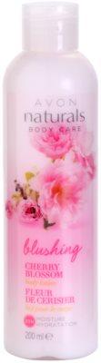 Avon Naturals Body hidratáló testápoló tej cseresznye virággal