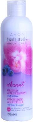 Avon Naturals Body leche corporal con orquídea y arándanos