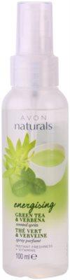 Avon Naturals Body pršilo za telo z zelenim čajem in verbeno