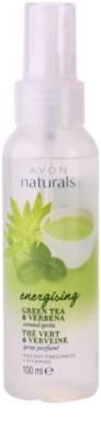 Avon Naturals Body хидратиращ спрей за тяло със зелен чай и върбинка