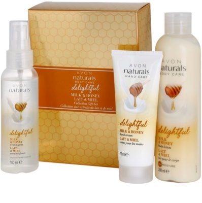 Avon Naturals Body козметичен пакет  I.