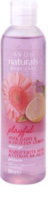 Avon Naturals Body gel de dus cu margarete si lamaie