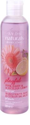 Avon Naturals Body sprchový gél so sedmokráskou a citrónom