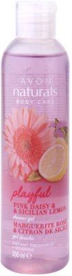 Avon Naturals Body гель для душу з ромашкою і лимоном