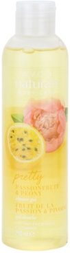 Avon Naturals Body освежаващ душ гел с маракуя и божур