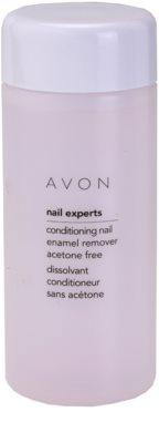 Avon Nail Experts removedor de verniz e de cuidado para unhas