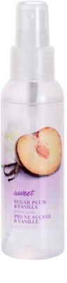 Avon Naturals Fragrance testápoló spray szilvával és vaníliával