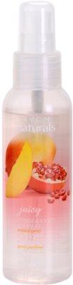 Avon Naturals Fragrance spray corporal con granada y mango