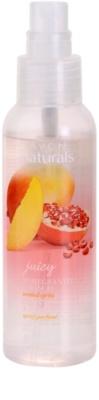 Avon Naturals Fragrance tělový sprej s granátovým jablkem a mangem 1