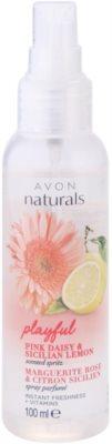 Avon Naturals Fragrance telový sprej so sedmokráskou a citrónom