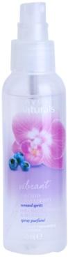 Avon Naturals Fragrance pršilo za telo z orhidejo in borovnico 1
