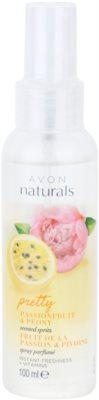Avon Naturals Fragrance Körperspray mit Maracuja und Pfingstrose