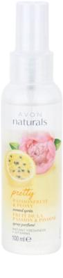 Avon Naturals Fragrance spray do ciała z marakują i piwonią