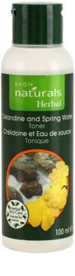 Avon Naturals Herbal tónico facial refrescante