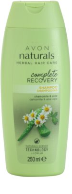 Avon Naturals Herbal champú regenerador con manzanilla