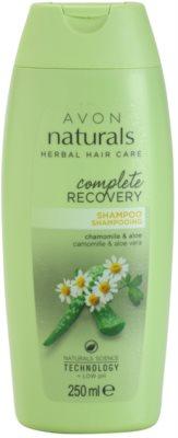 Avon Naturals Herbal regeneracijski šampon z kamilico