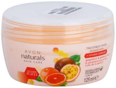 Avon Naturals Hair Care regenerująca maska do włosów
