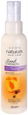Avon Naturals Hair Care pršilo za lase za lažje česanje las