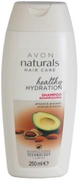 Avon Naturals Hair Care Regenierendes Shampoo für trockenes und beschädigtes Haar