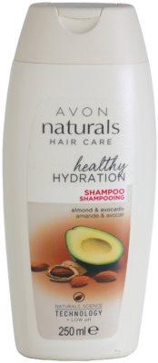 Avon Naturals Hair Care регенериращ шампоан  за суха и увредена коса