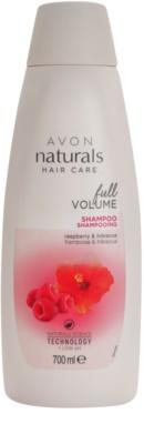 Avon Naturals Hair Care šampon pro jemné a zplihlé vlasy