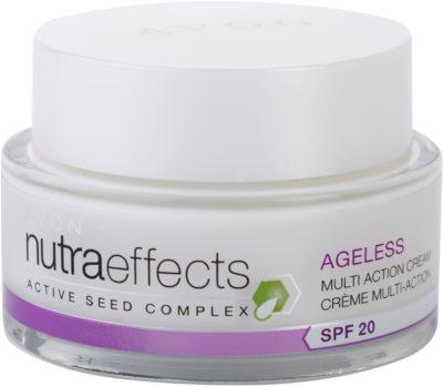 Avon Nutra Effects Ageless creme de dia renovador SPF 20
