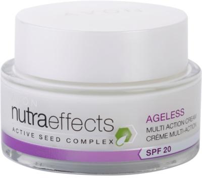 Avon Nutra Effects Ageless Tagescreme mit erneuernder Wirkung SPF 20