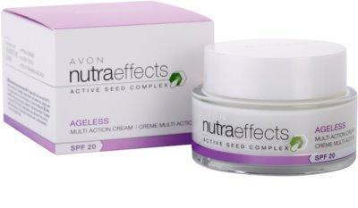 Avon Nutra Effects Ageless creme de dia renovador SPF 20 3