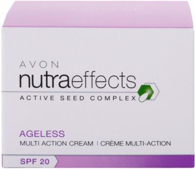 Avon Nutra Effects Ageless creme de dia renovador SPF 20 4