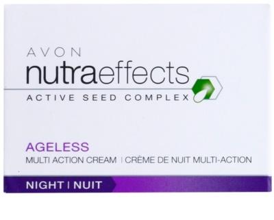 Avon Nutra Effects Ageless éjszakai krém regeneráló hatással 3
