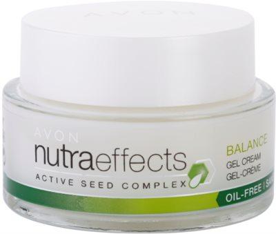 Avon Nutra Effects Balance matirajoča gel krema z nemastno sestavo