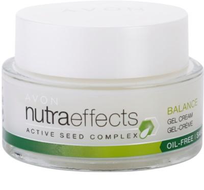 Avon Nutra Effects Balance matujúci gélový krém s nemastným zložením