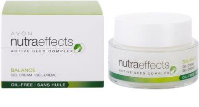 Avon Nutra Effects Balance Creme gel matificante com 0% de gordura. 2