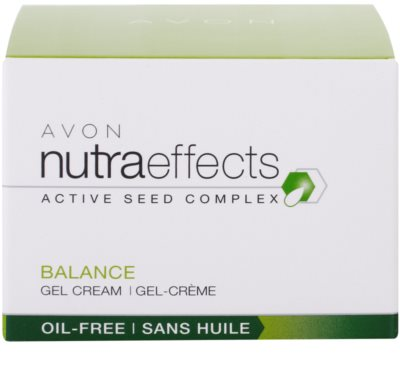 Avon Nutra Effects Balance matirajoča gel krema z nemastno sestavo 4