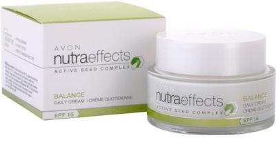 Avon Nutra Effects Balance mattierende Tagescreme SPF 15 3