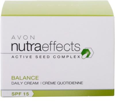 Avon Nutra Effects Balance mattierende Tagescreme SPF 15 4