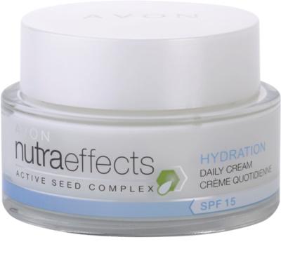 Avon Nutra Effects Hydration crema de día hidratante  SPF 15
