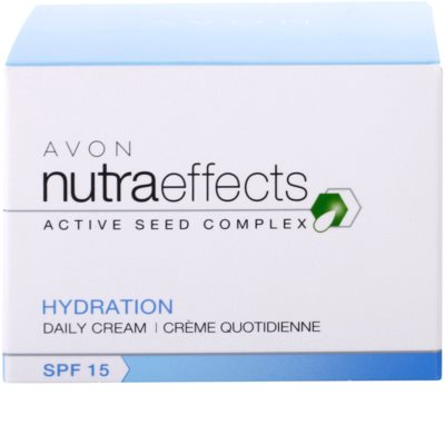 Avon Nutra Effects Hydration hydratisierende Tagescreme SPF 15 4