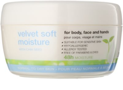 Avon Nutra Effects zjemňující hydratační denní a noční krém na obličej a tělo
