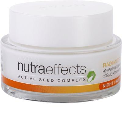 Avon Nutra Effects Radiance освітлюючий нічний крем