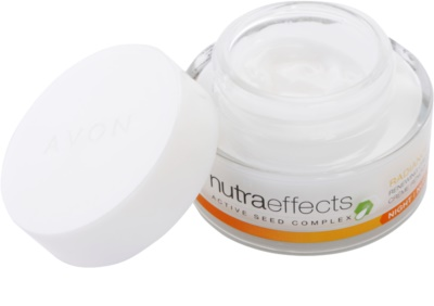 Avon Nutra Effects Radiance creme de noite iluminador 1