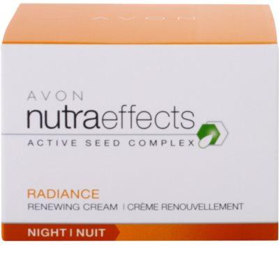 Avon Nutra Effects Radiance creme de noite iluminador 4
