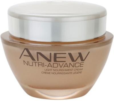 Avon Anew Nutri - Advance crema hranitoare light