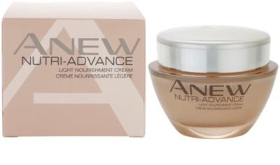 Avon Anew Nutri - Advance crema hranitoare light 2