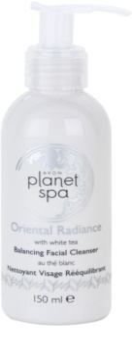 Avon Planet Spa Oriental Radiance gel facial de limpeza com chá branco